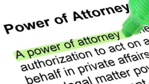 A Power of Attorney is an Important Part of Your Estate Plan